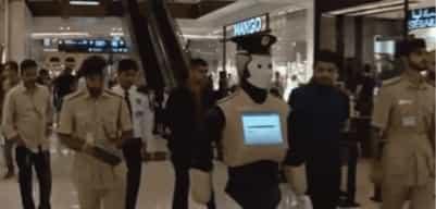 Первый робот-полицейский