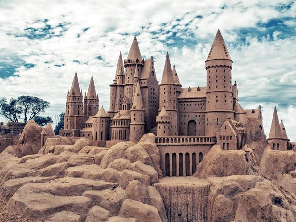 Интересные места в Лаппеенранте - Песчаный замок