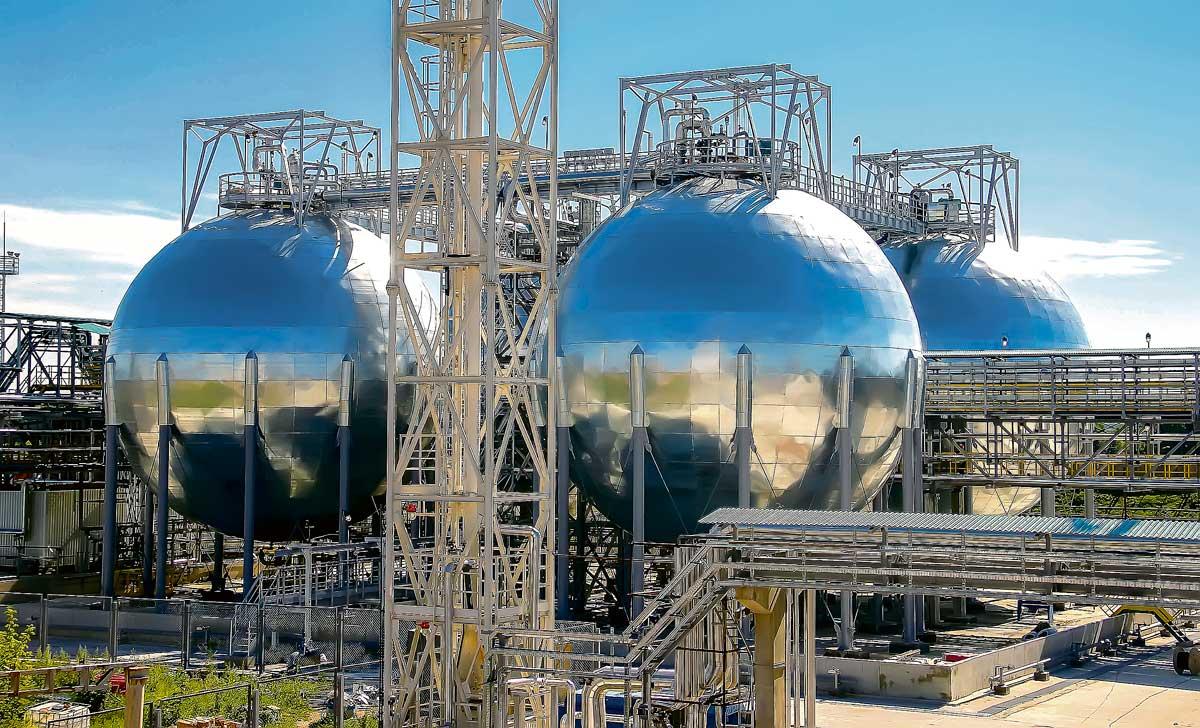 углеводородный газ