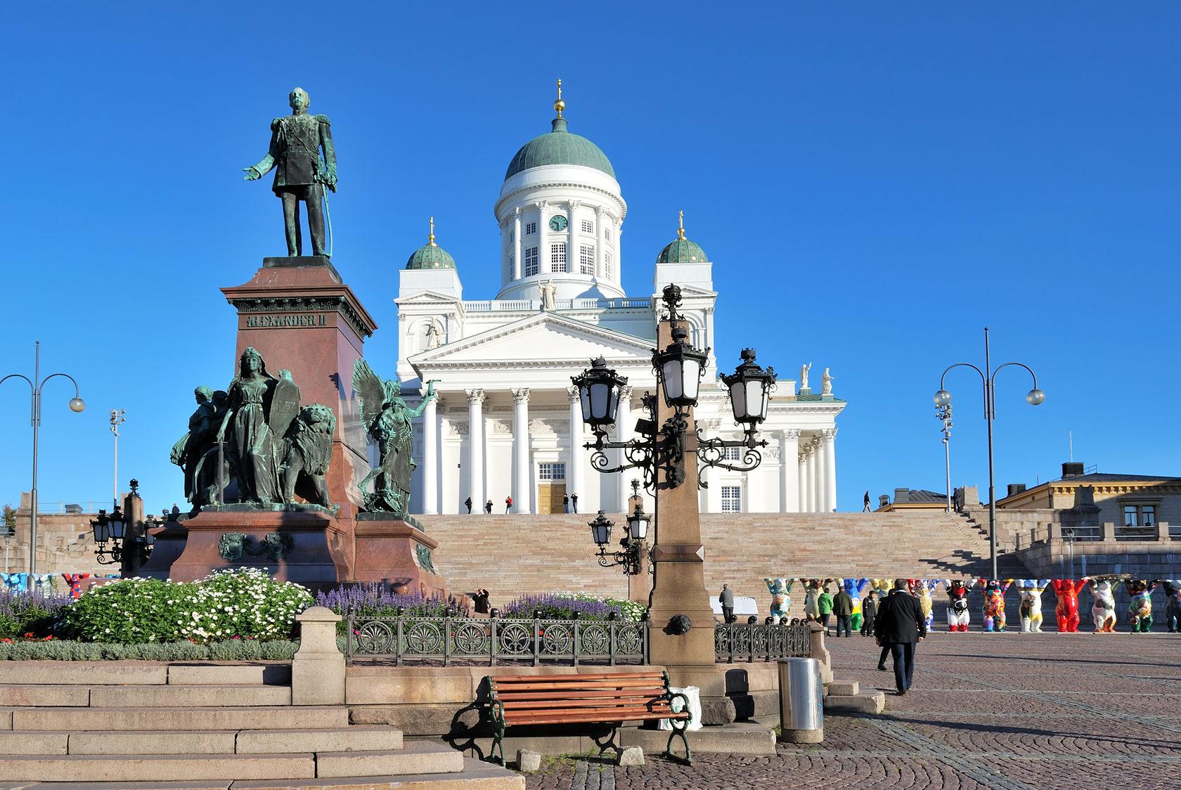 Кафедральный собор в Хельсинки | Главные достопримечательности Хельсинки