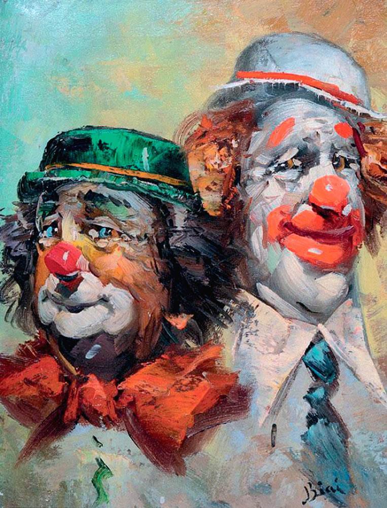 Иштван Биаи-Фоглейн «Клоуны»