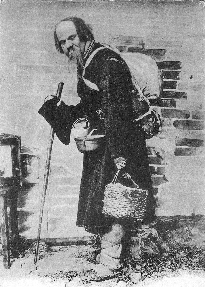 Иван Москвин, ведущий актер Художественного театра. Он прославился в 1898