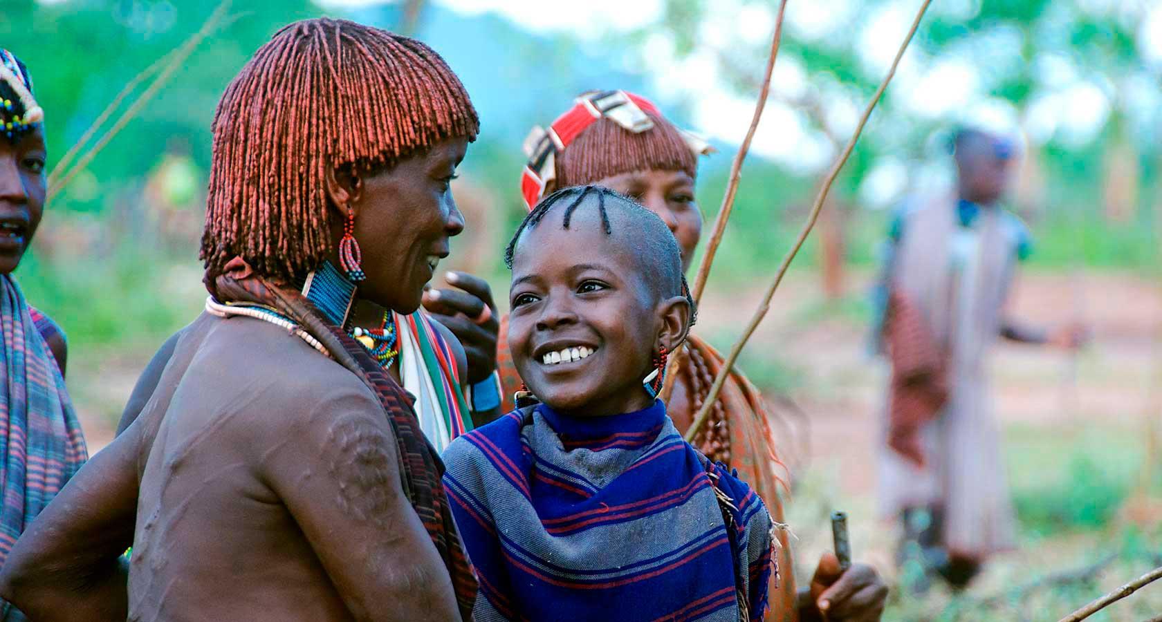 В африке сосут член в племени