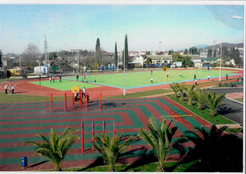 Новая спортивная площадка, 2011 г