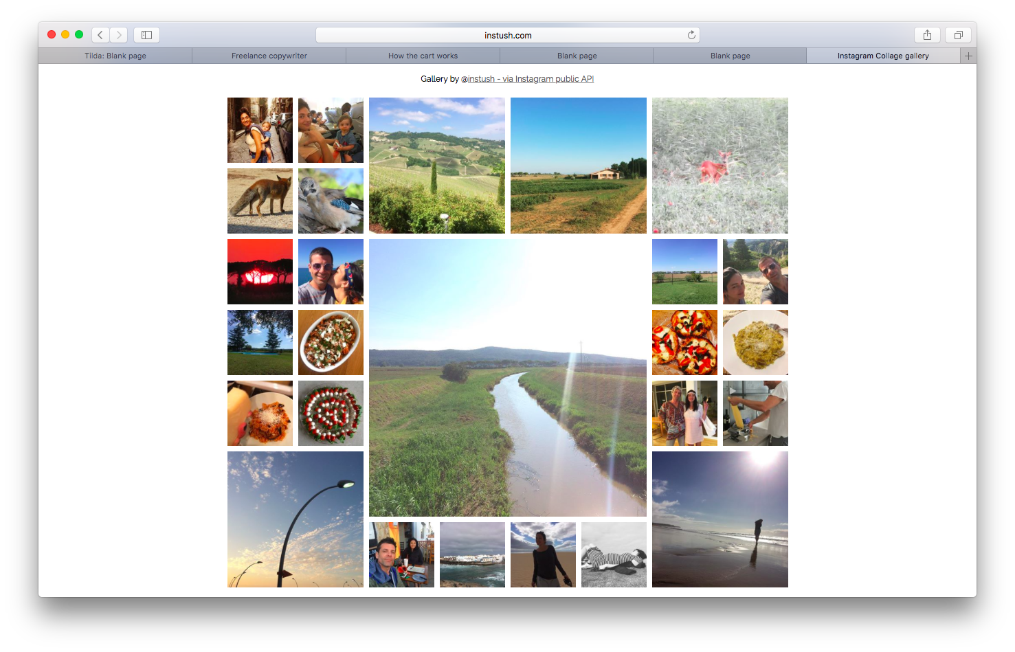 How to embed Instagram feed to your website