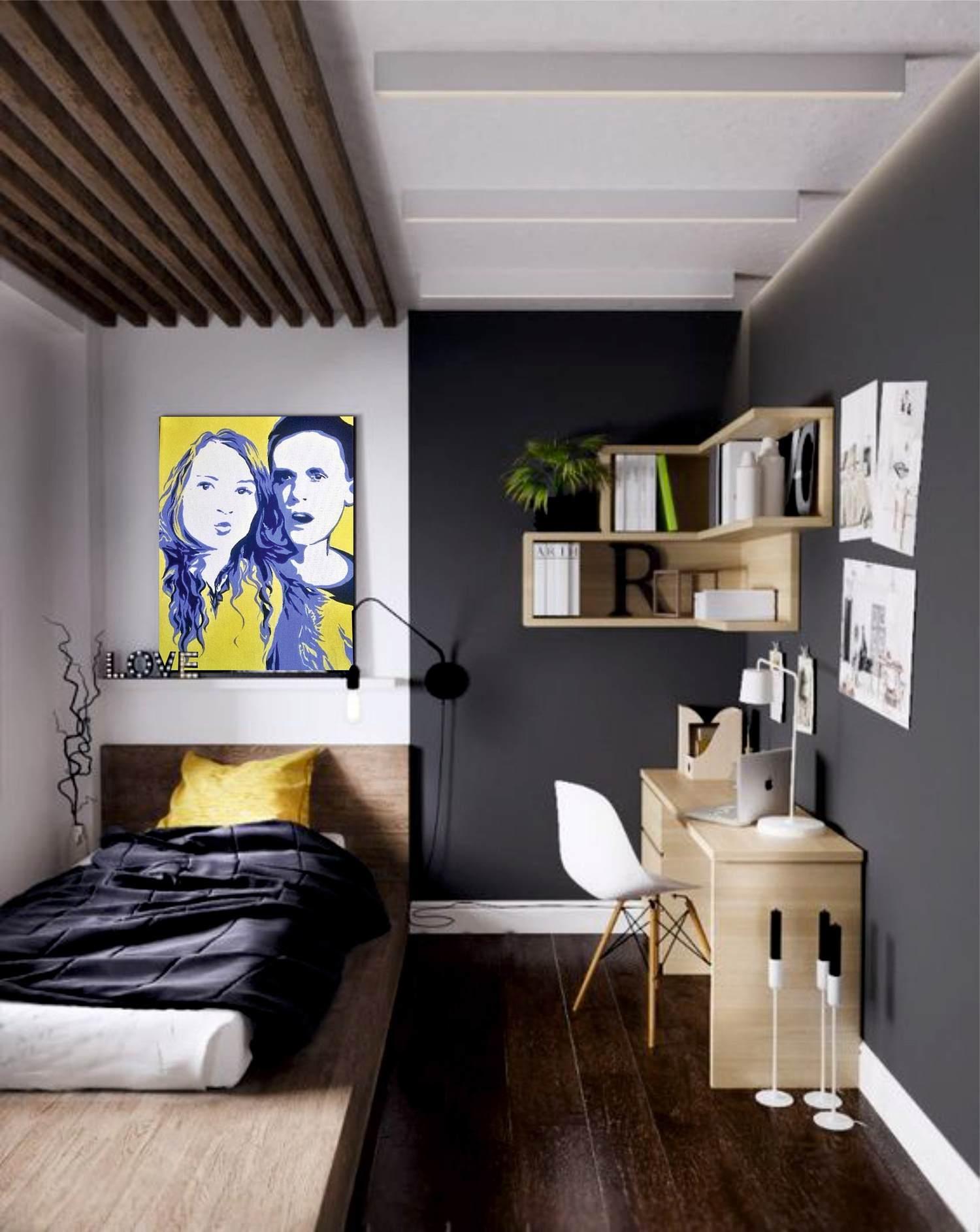 Маленькая детская комната (50 фото) - идеи дизайна интерьеро.