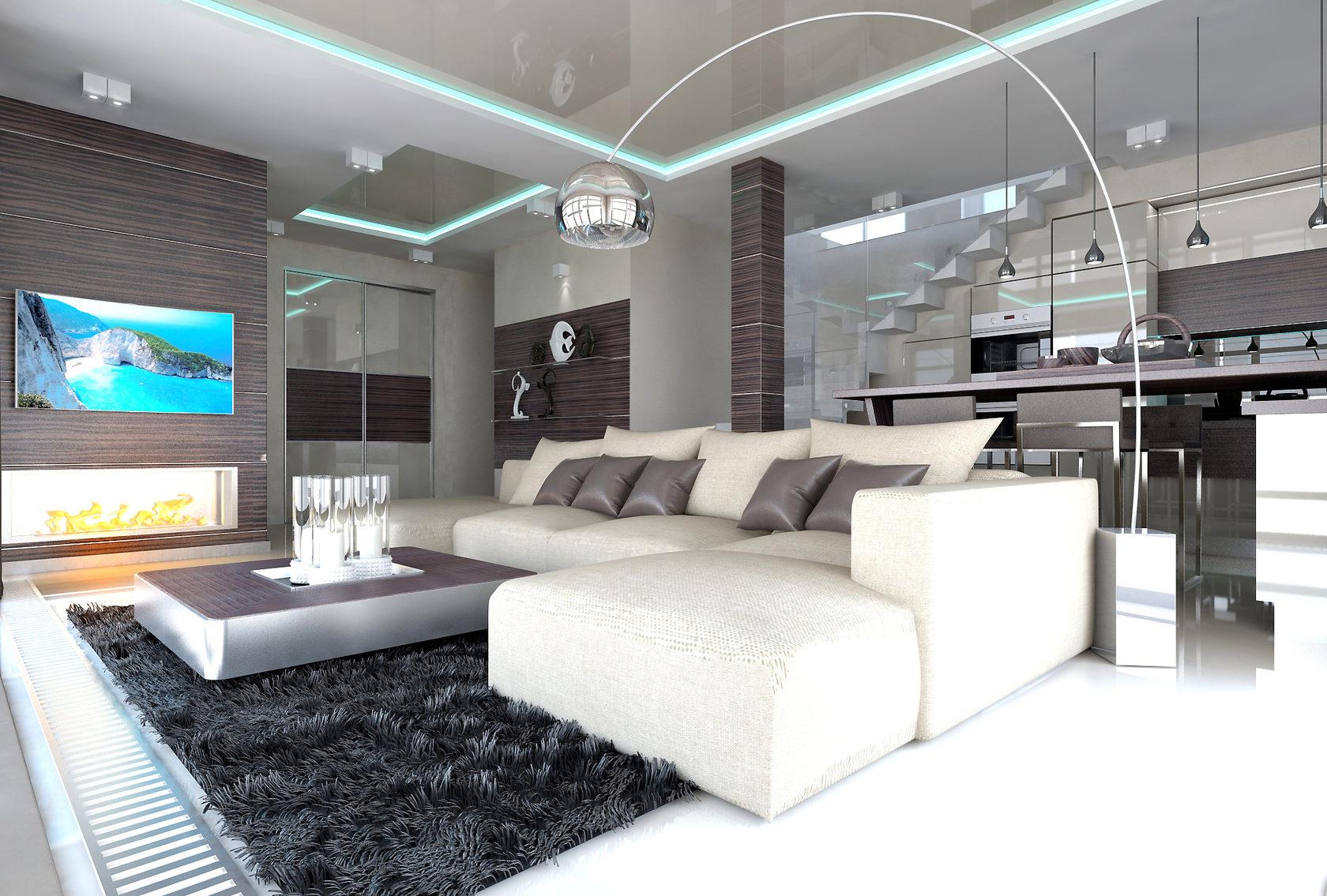 низкокалорийны дизайн гостиной хай тек фото мэнсон свежие