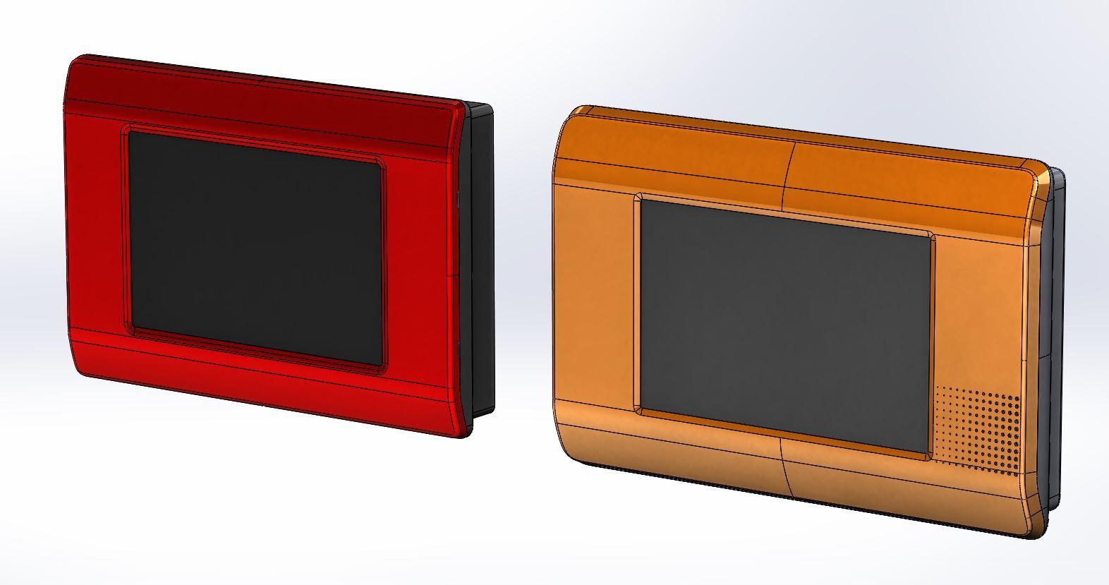 Моделирование корпуса охранной сигнализации