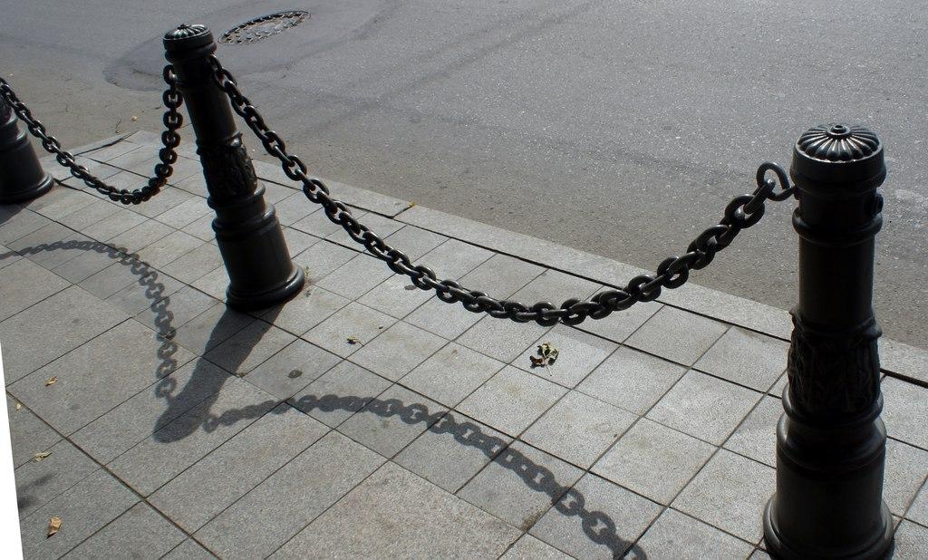 оградки с цепью фото оценка дана результатам