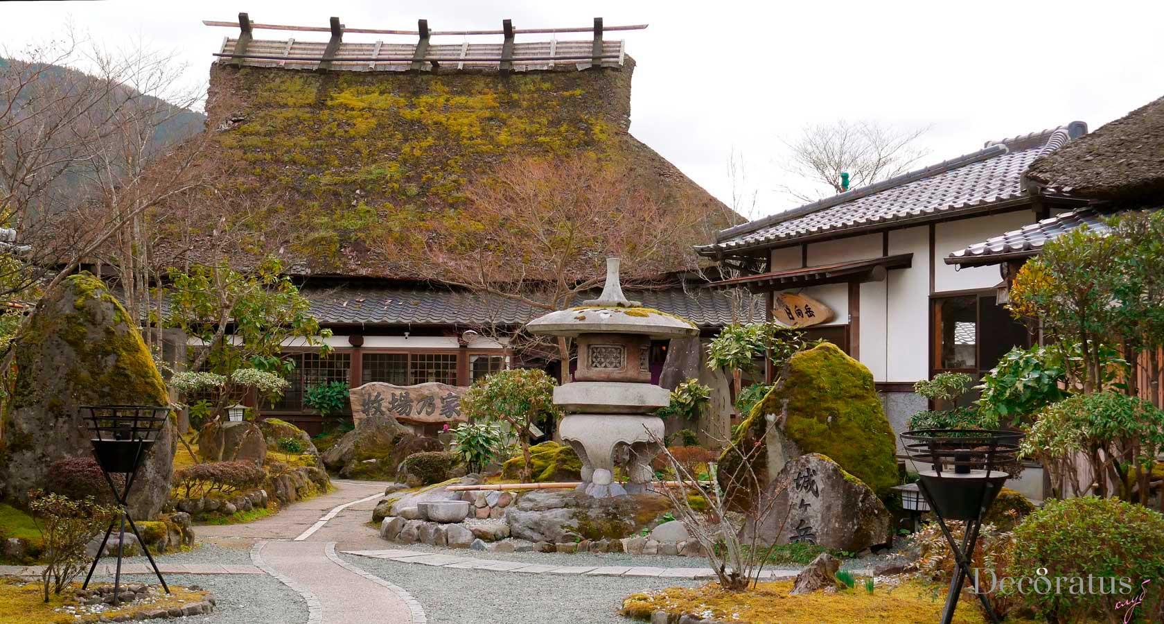японский рекан - гостиница в традиционном японском стиле