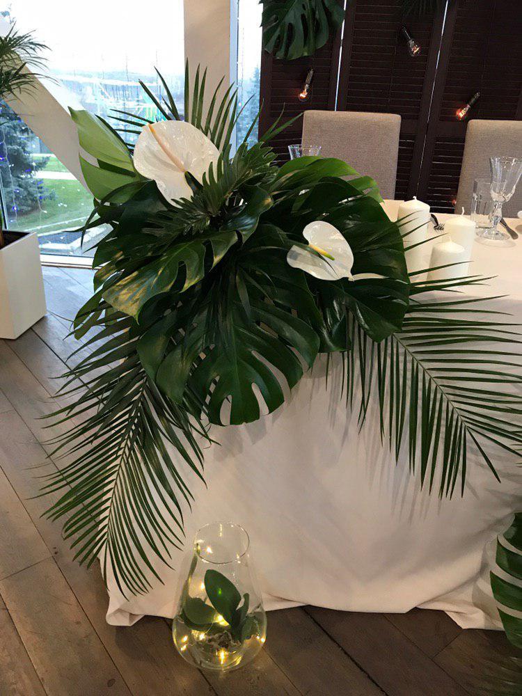 Оформление свадьбы в тропическом стиле. Фото 4