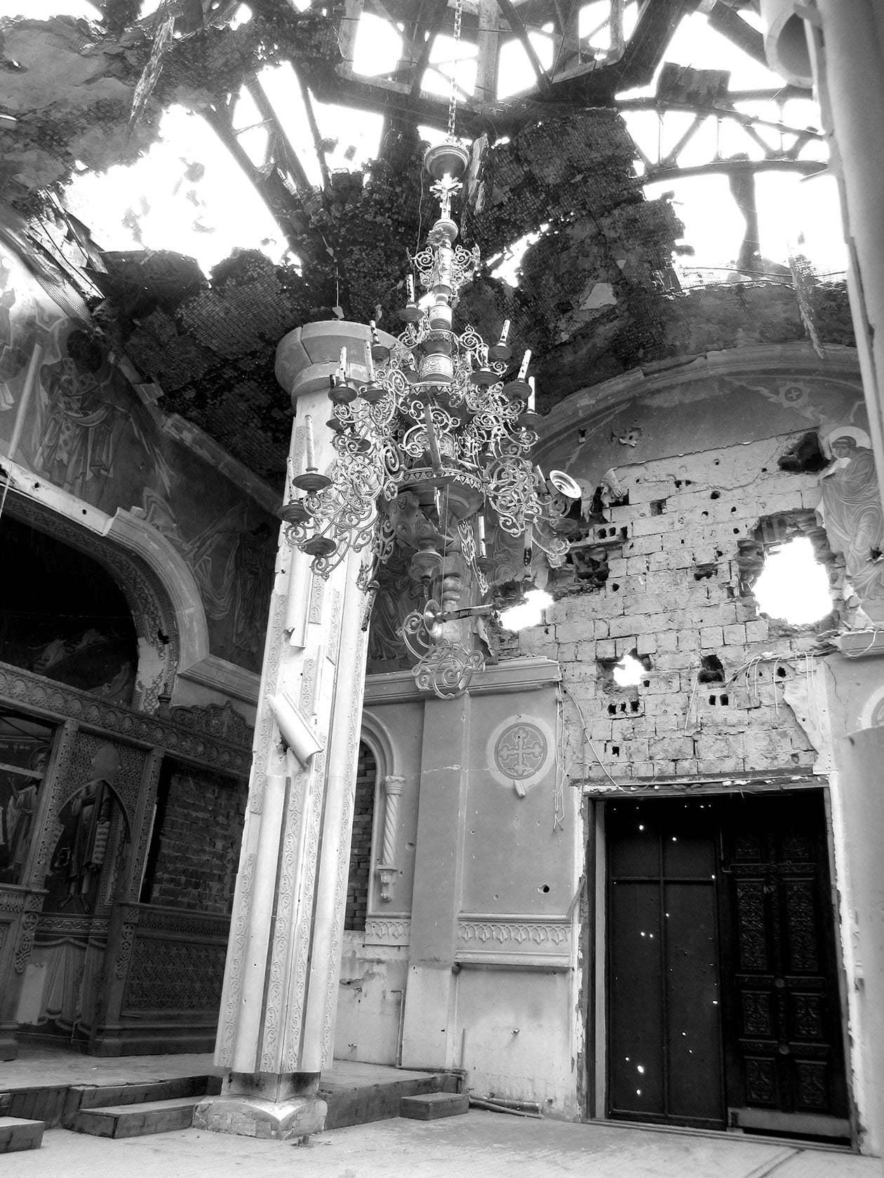 Иверский монастырь в Донецке, разрушенный Иверский монастырь Донецк