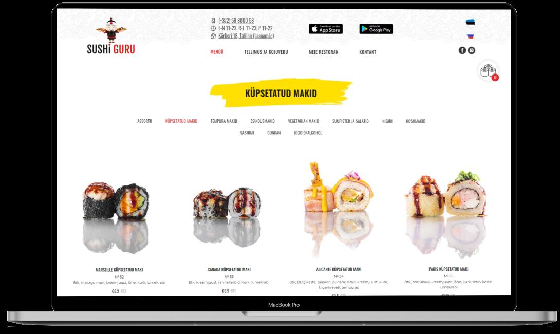 Ресторан Sushi Guru