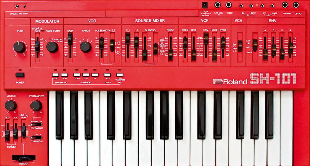 Синтезатор Roland SH-101