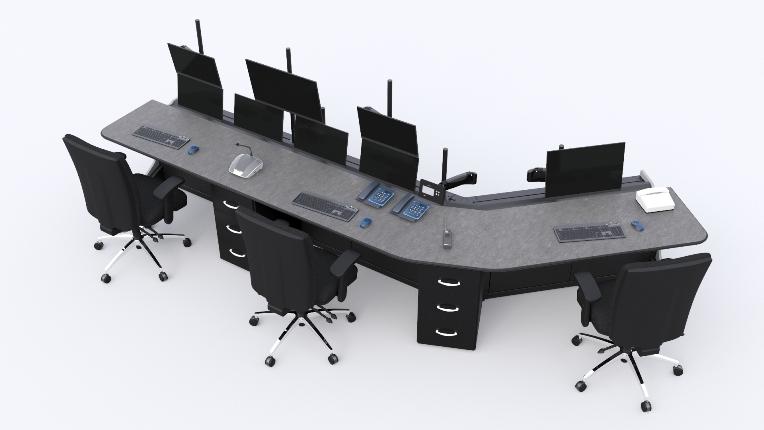Стол оператора для ПАО 'Кокс'