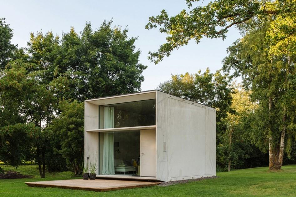 Модульный дом бетон пресс формы для бетона купить в