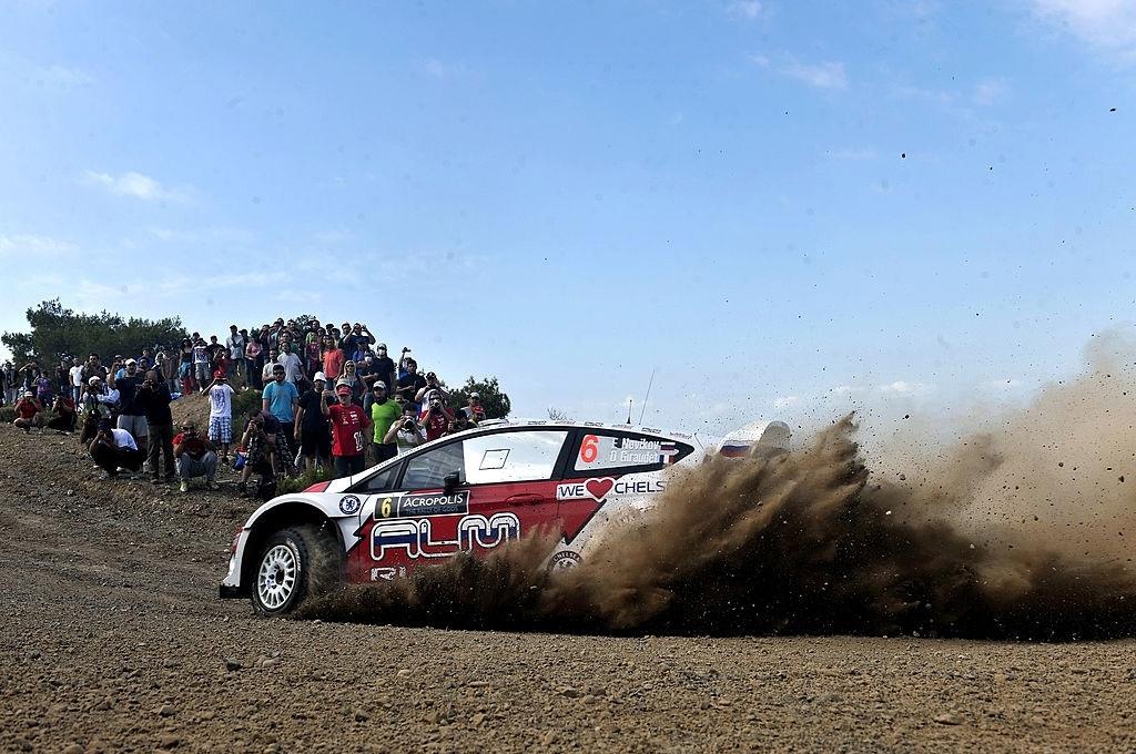 Евгений Новиков и Дени Жироде, Ford Fiesta RS WRC, ралли «Акрополис» 2013