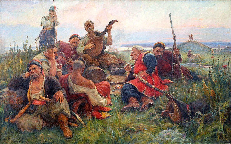 Иван Шульга. «Песня запорожцев» (1945)