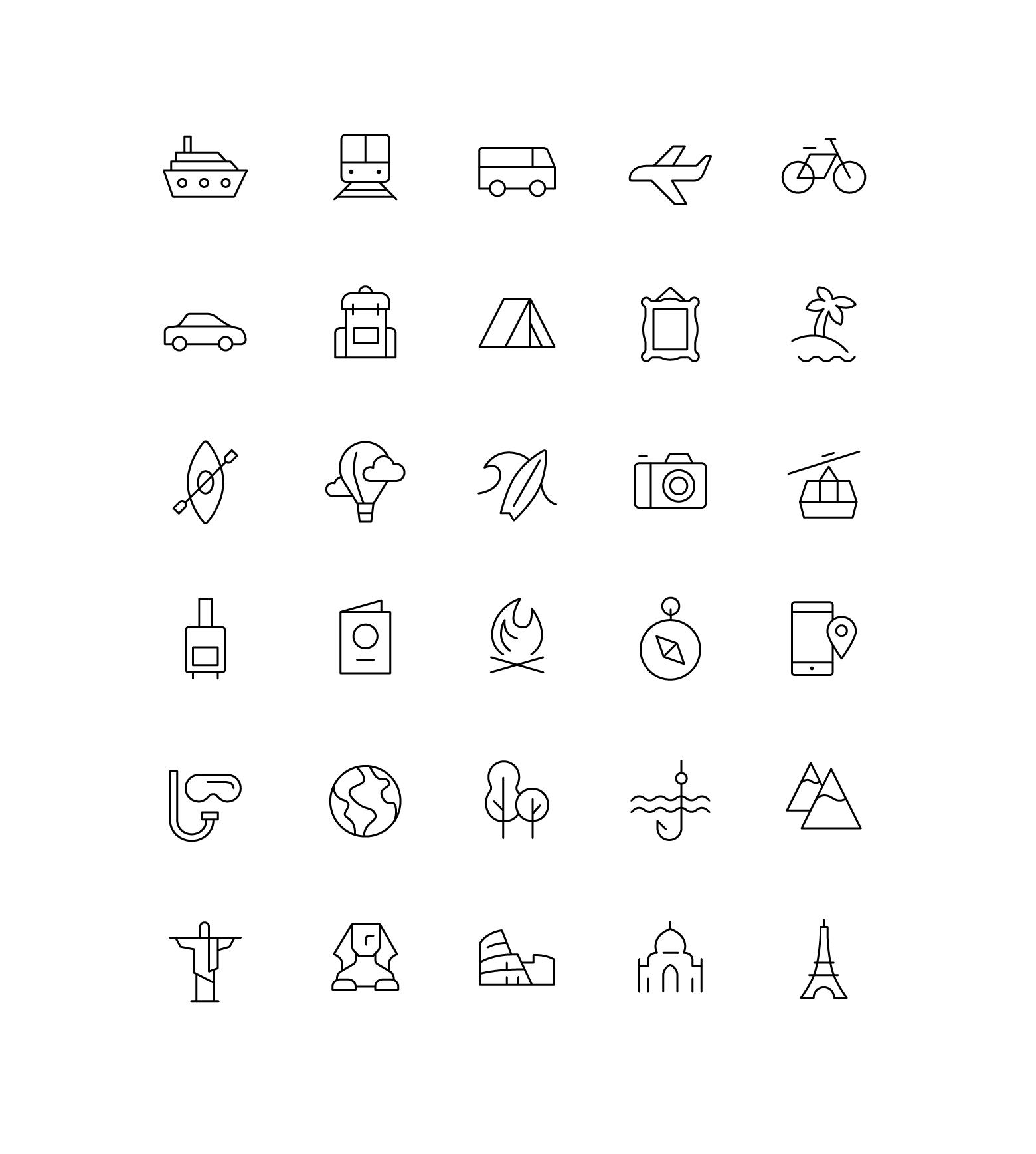 Иконки «Образование»