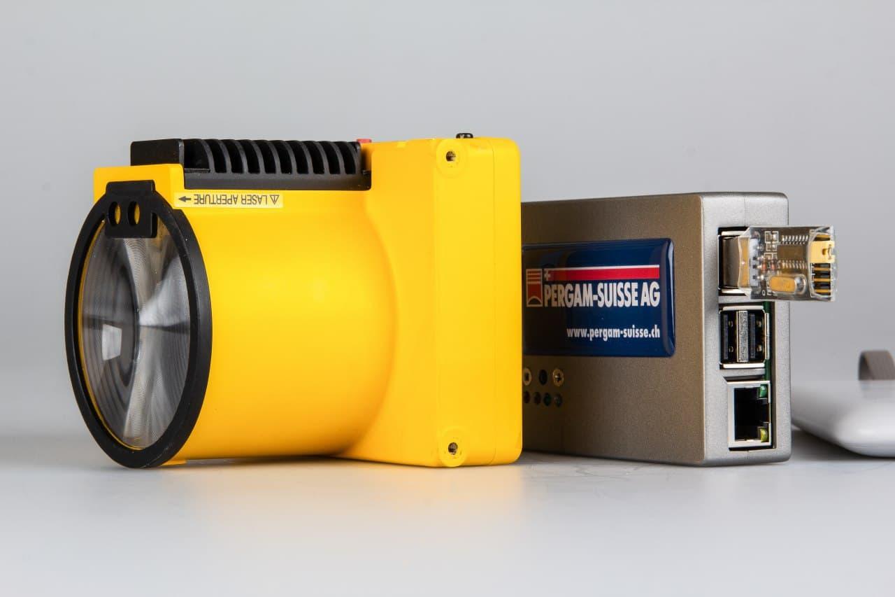 Laser Falcon Gas Leak Detector