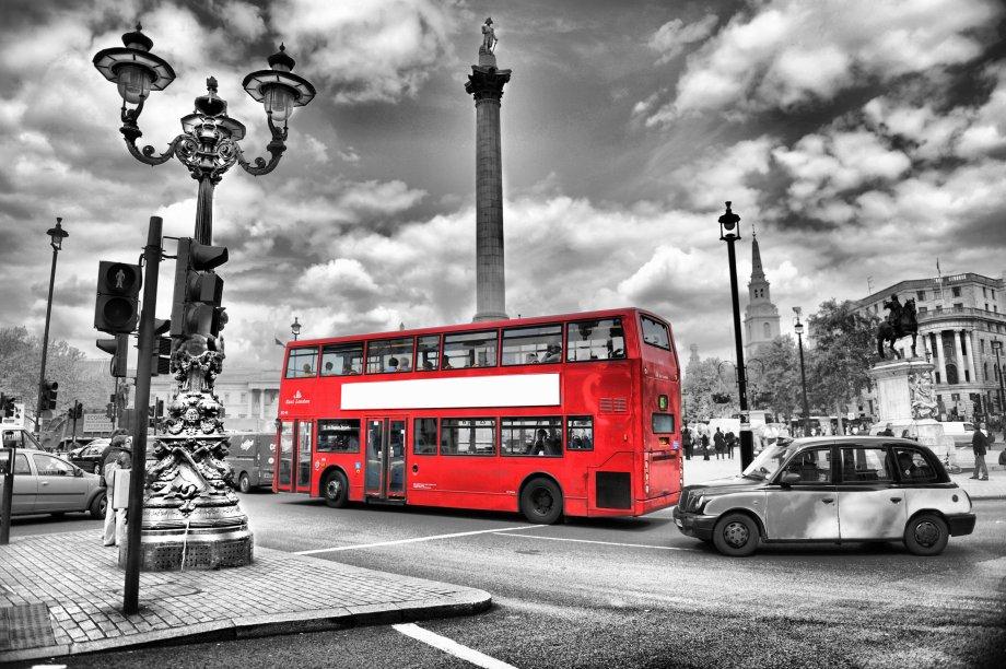 Уличное освещение Лондона