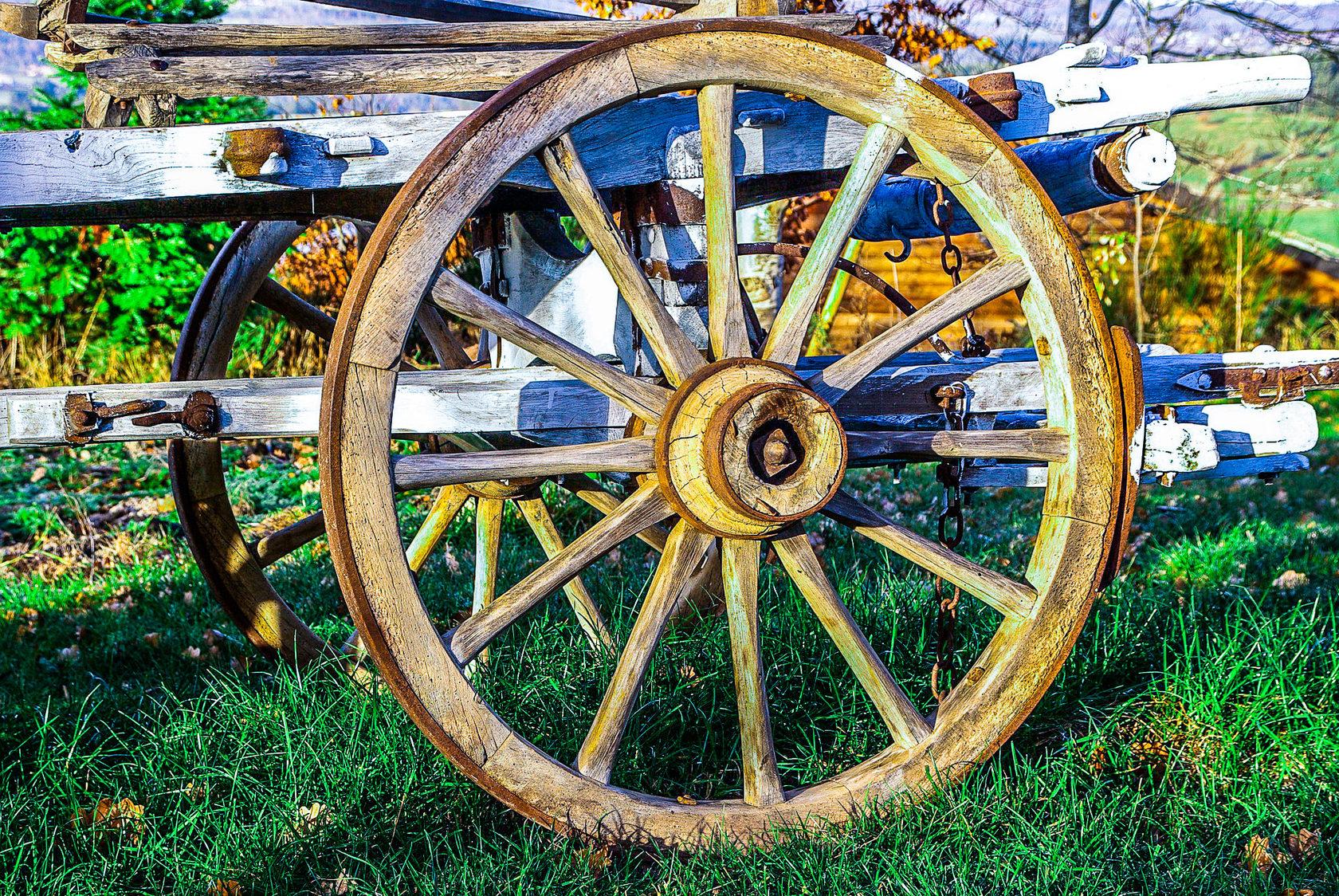 немного картинка колесо и повозка смерти деда