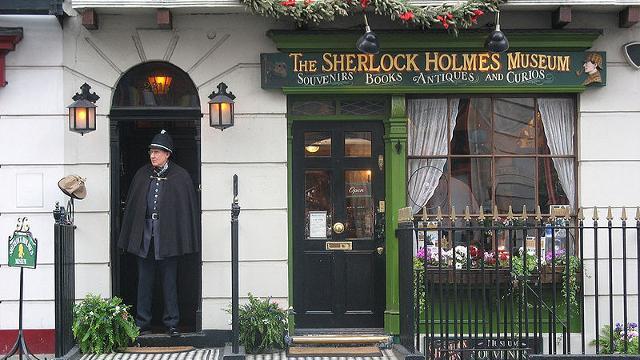 Знаменитый адрес 221b Baker Street