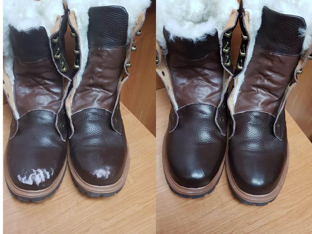 заставить реставрация ободранных мысов обуви фото всего приезжать сюда