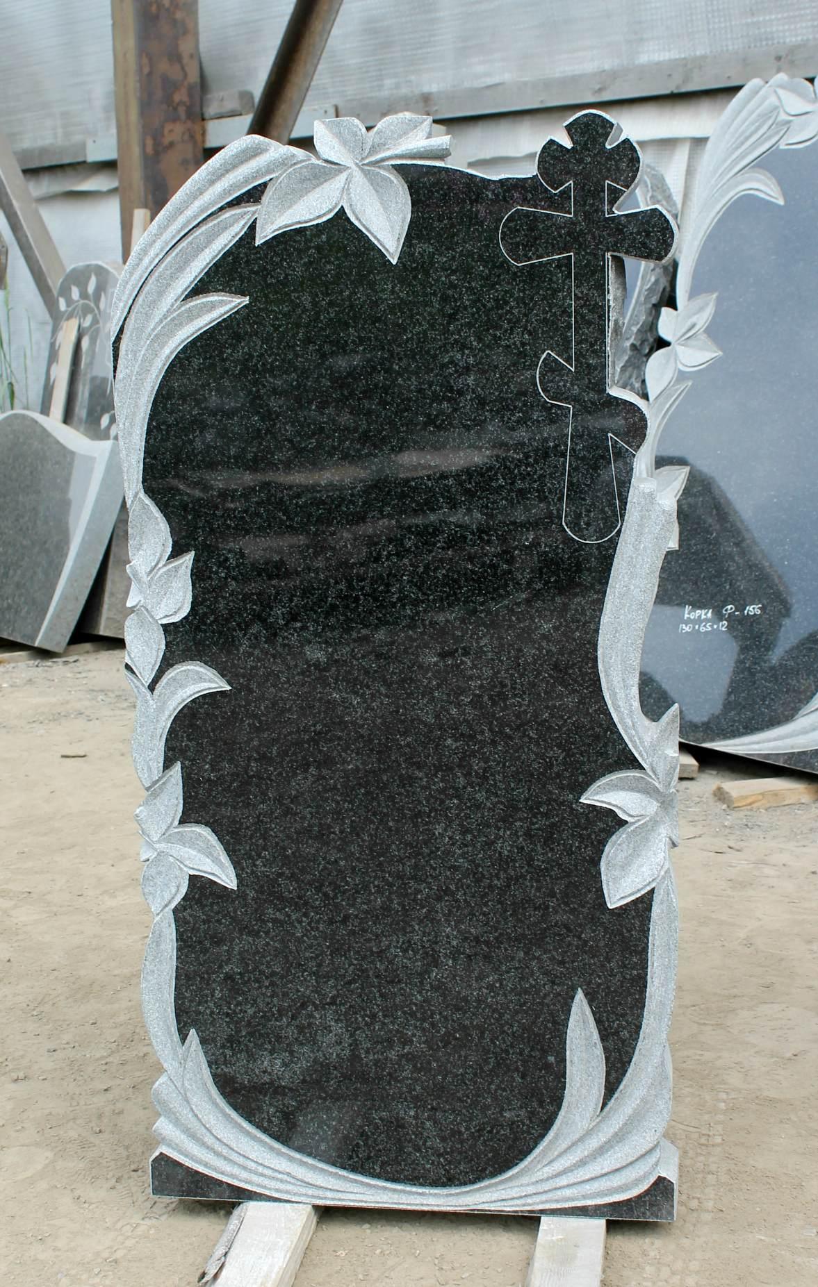 Памятник фигурный с лилиями