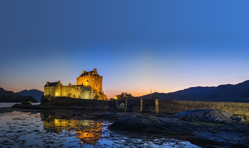 Замки Шотландии, лучшие фото