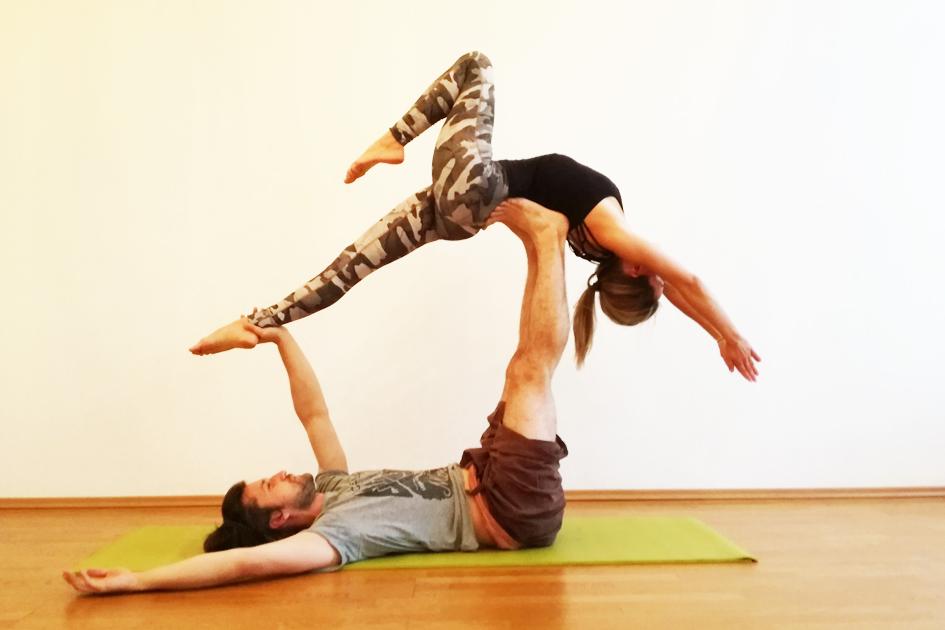 Йога среднего уровня сложности Киев