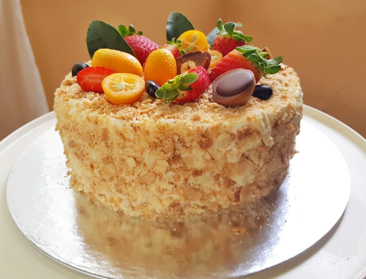больнице рецепты с картинками торта наполеон достоинством