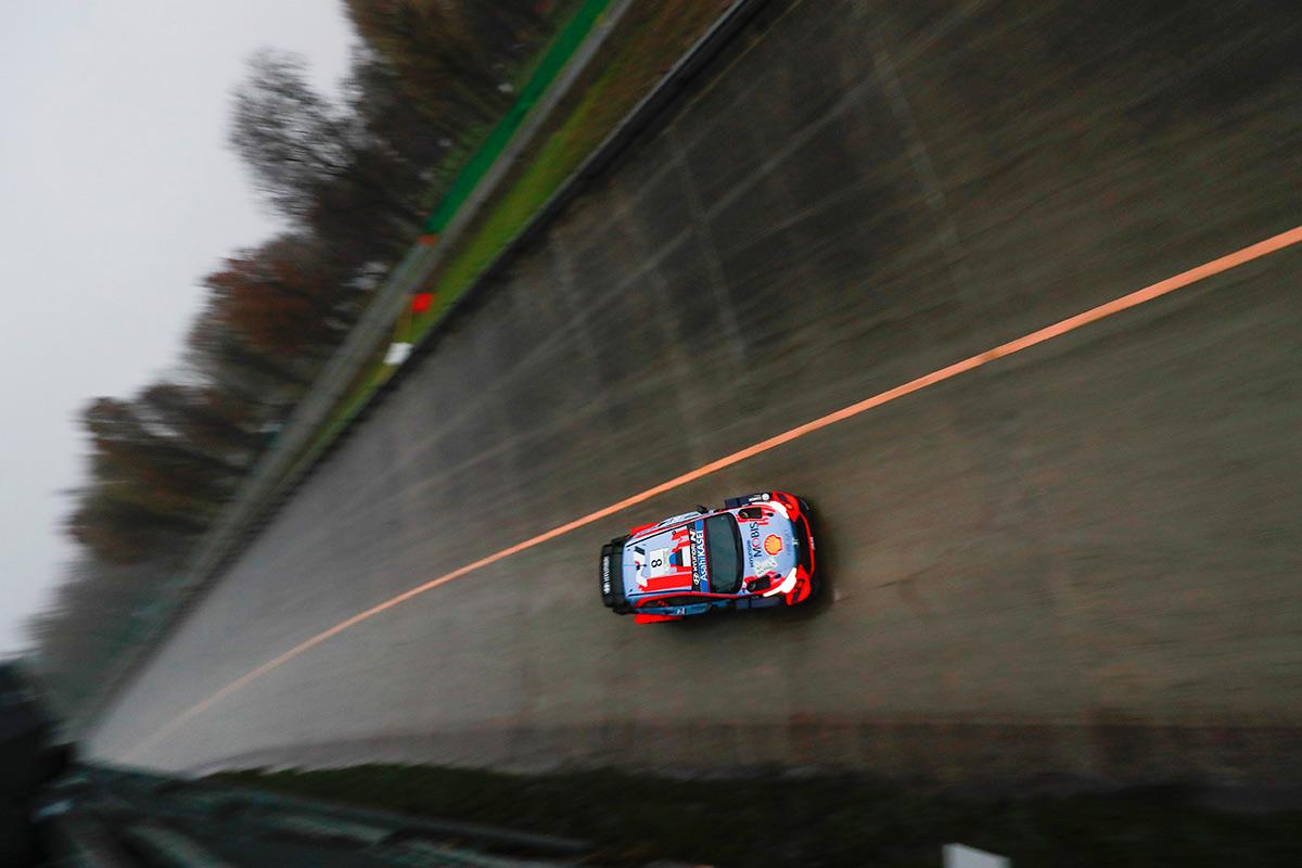 Отт Тянак и Мартин Ярвеоя, Hyundai i20 Coupe WRC, ралли Монца 2020