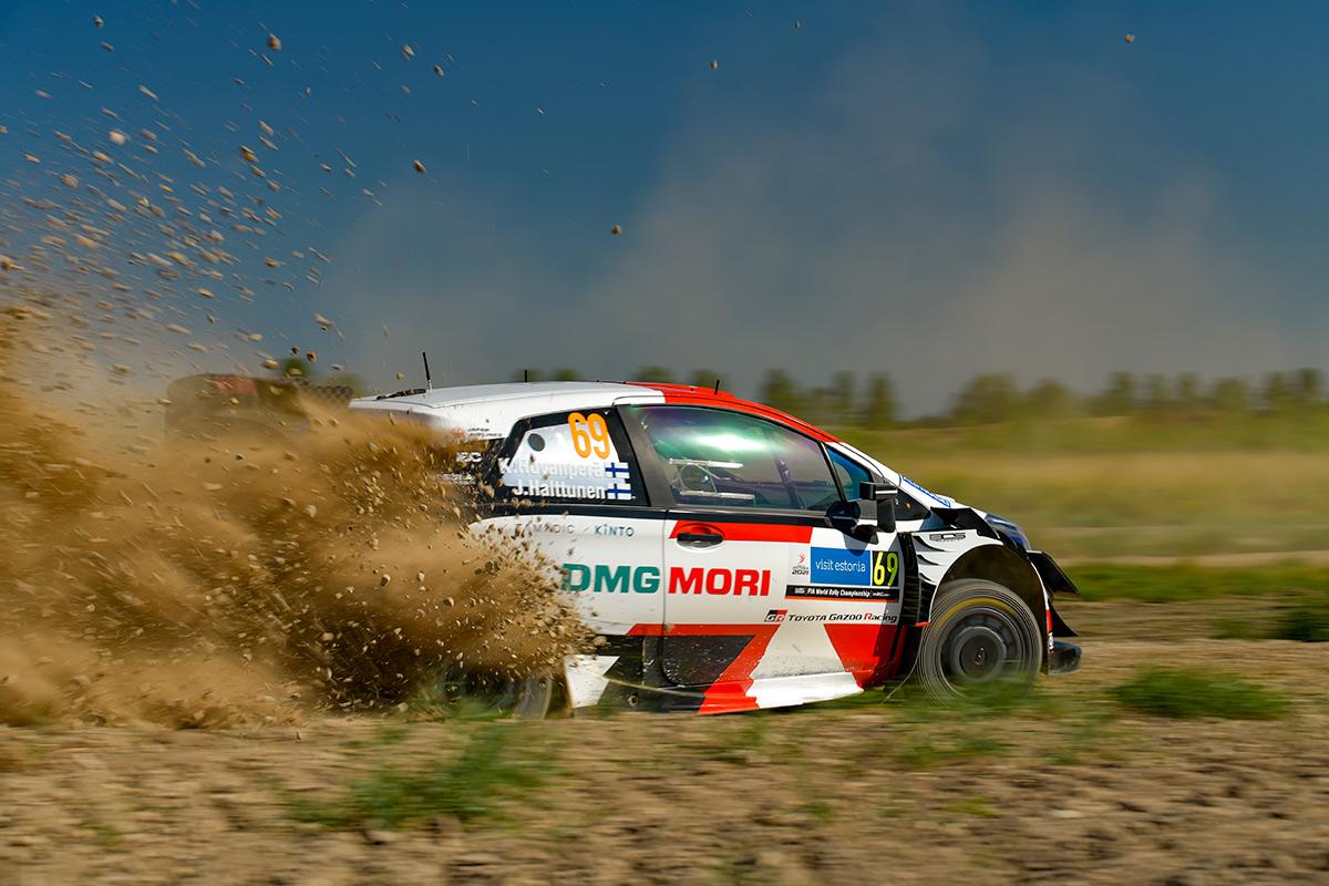 Калле Рованпера и Йонне Халттунен, Toyota Yaris WRC, ралли Эстония 2021