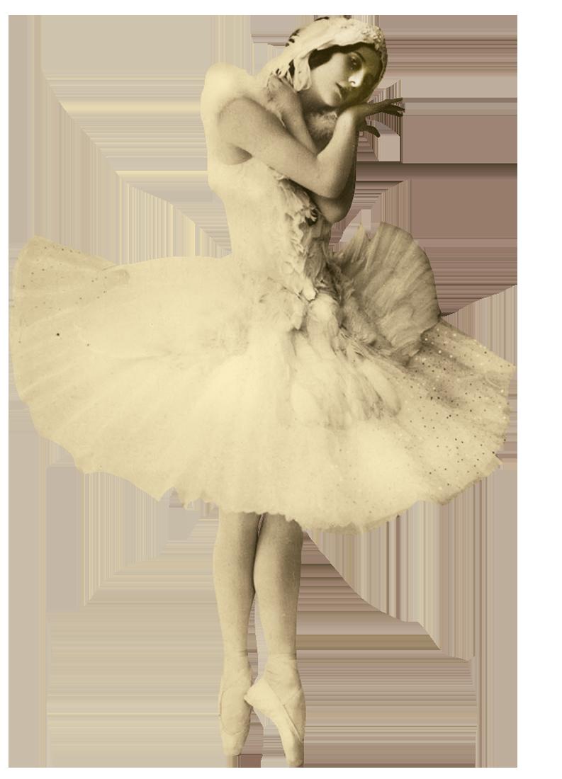 Балерина Анна Павлова в роли умирающего лебедя