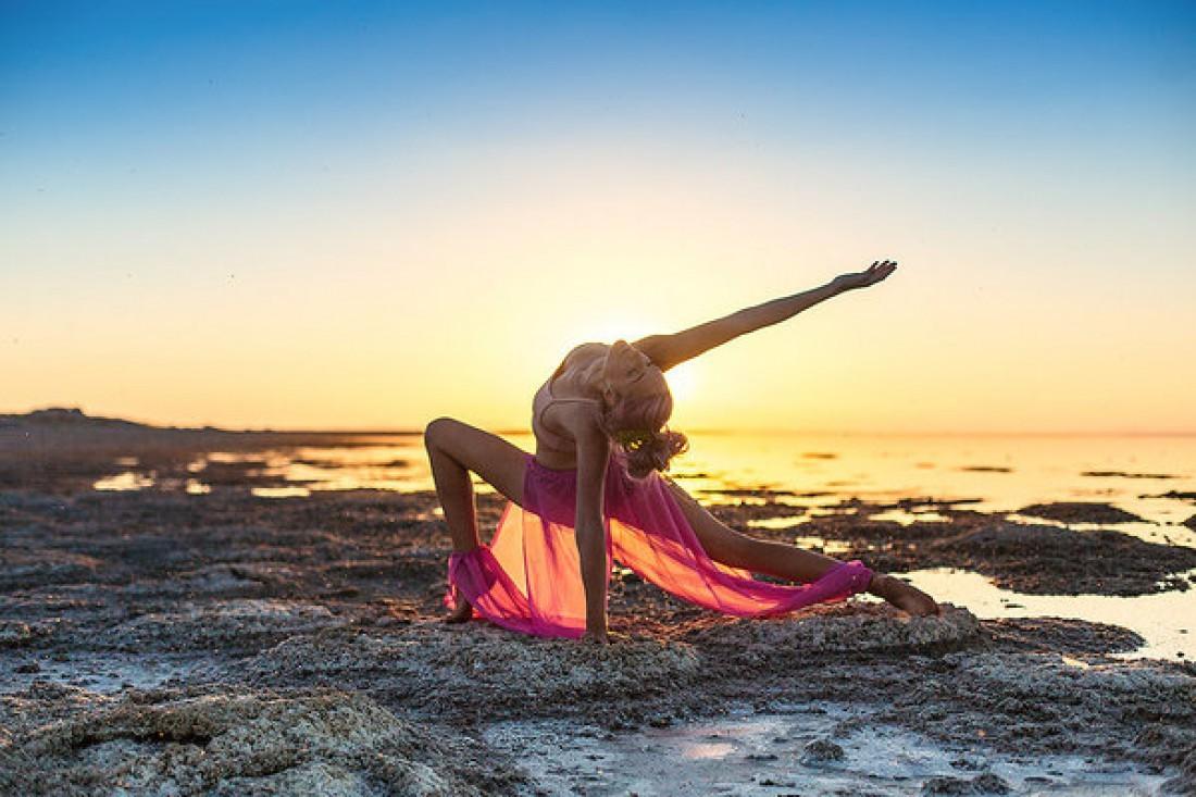 Тренировка по йоге для новичков Киев