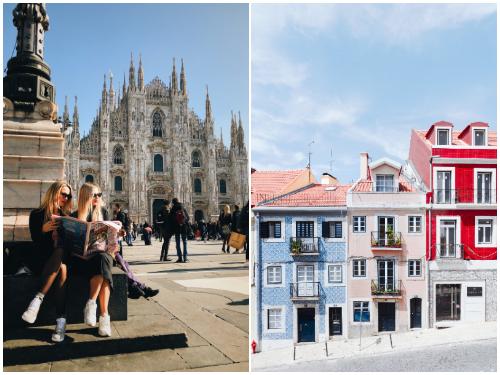 Милан и Лиссабон в ноябре
