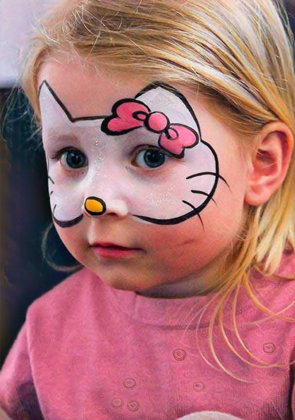 Картинки макияжа для девочек на день рождения