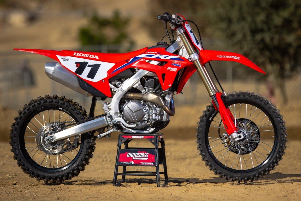 Тест: Honda CRF450R 2022 года