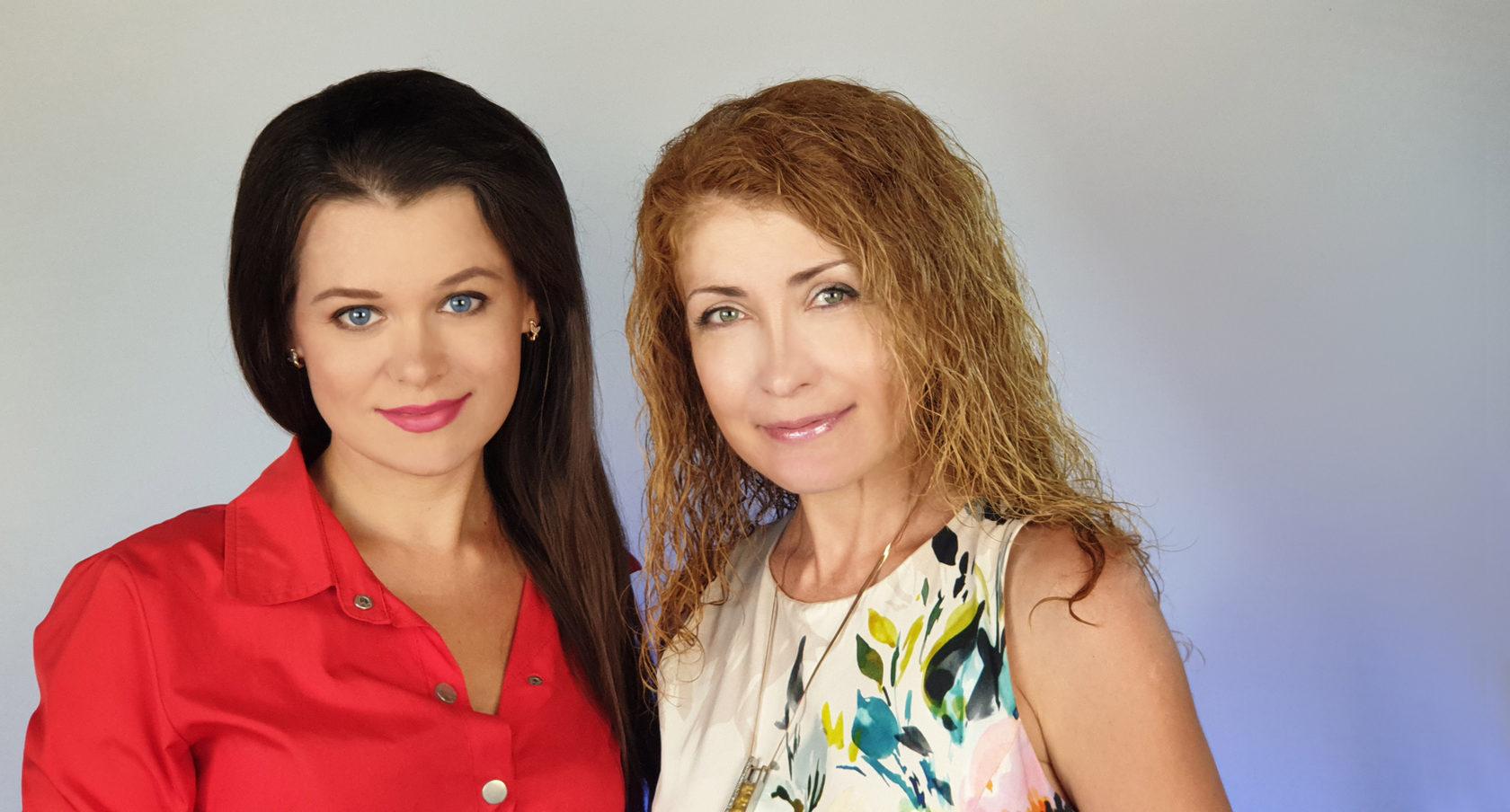 Елена Грабарь и Марина Щеглова