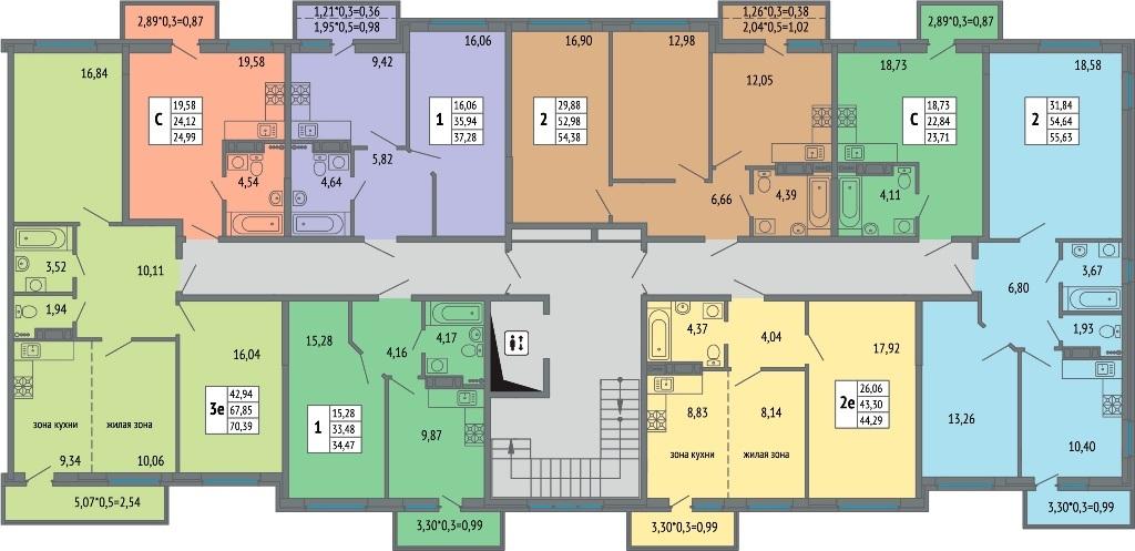 Купить квартиру в жк Светлоград от застройщика