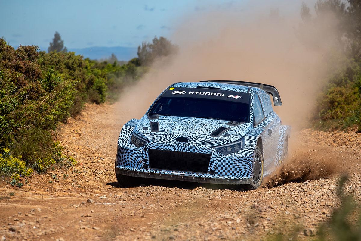 Тесты прототипа Rally1 от Hyundai