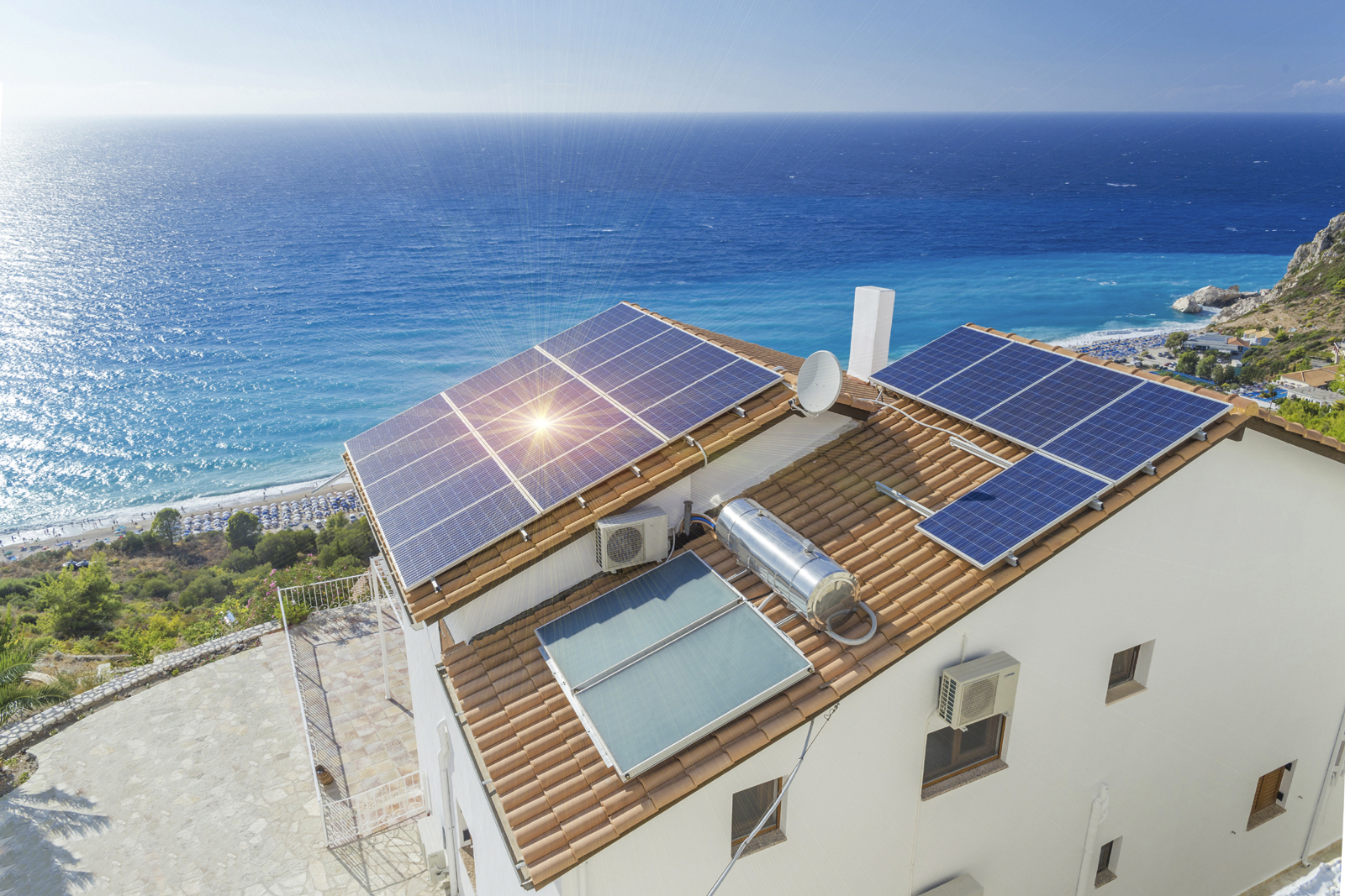 картинки с солнечными крышами короткие