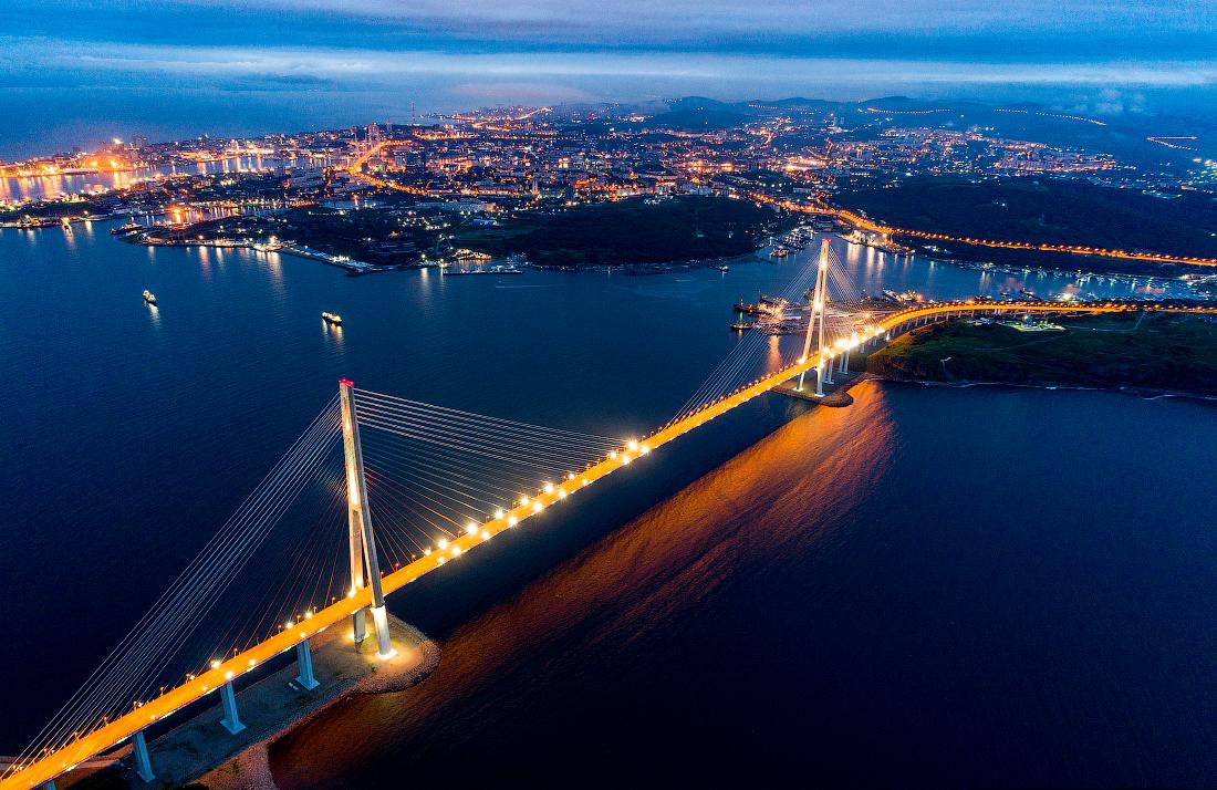 Фото и картинки нашего города владивостока мосты