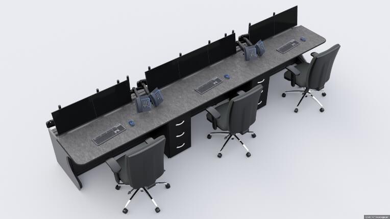 Диспетчерские столы для ООО 'КВС'