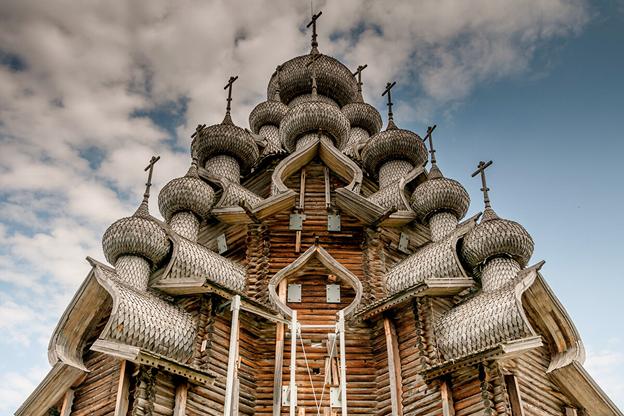 Храм на острове Кижи