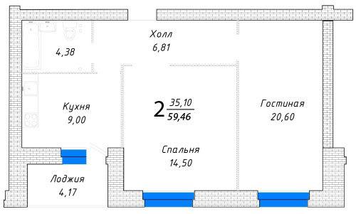 Ремонт квартир в Самаре под ключ - фото 31