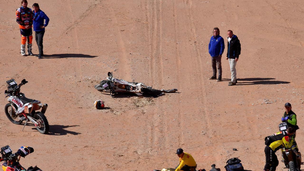 Дакар 2021: Сантош Шивашанкар оказался в коме после аварии на четвертом этапе