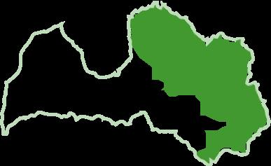 Latvija karte