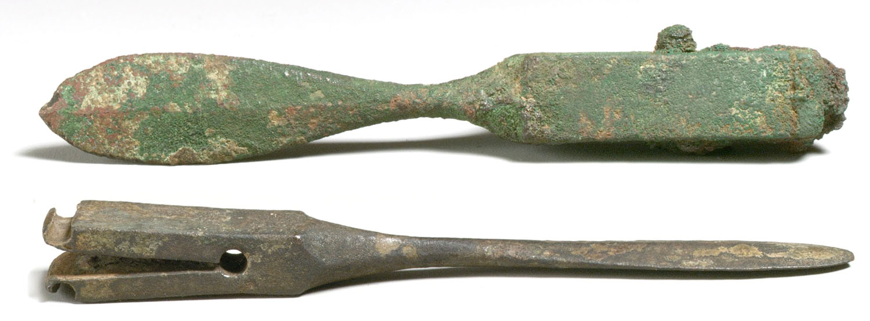 Римские бронзовые скальпели I—II век н. э.